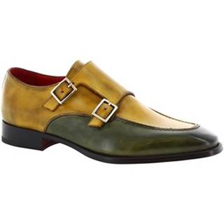 Derbie Leonardo Shoes  8742E19 TOM VITELLO DELAVE VERDE
