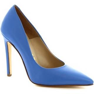 Lodičky Leonardo Shoes  206 NAPPA JEANS