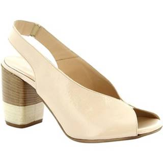 Sandále Leonardo Shoes  4673 NAPLAK CREMA