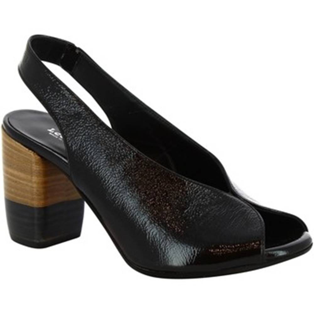 Leonardo Shoes Sandále Leonardo Shoes  4673 NERO