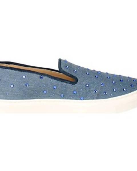 Modré topánky Braccialini