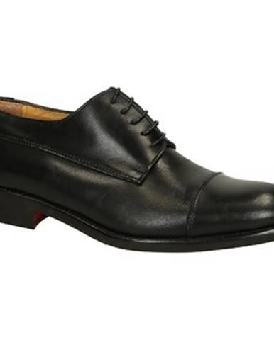 Derbie Leonardo Shoes  T117 SIVIGLIA NERO