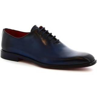 Derbie Leonardo Shoes  990 V.BLU