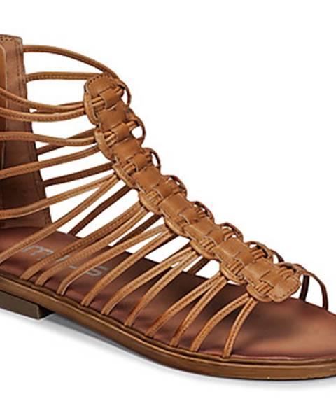 Hnedé topánky Mjus