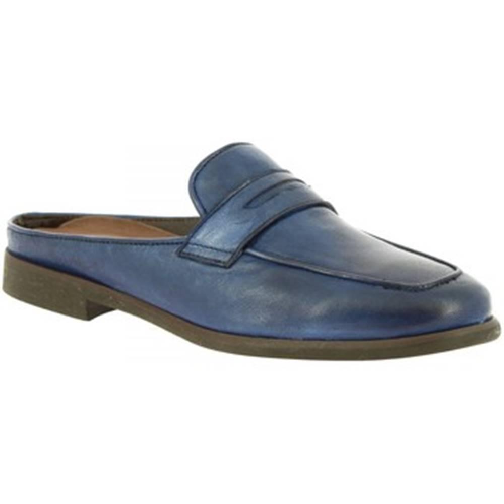 Leonardo Shoes Nazuvky Leonardo Shoes  35591/3 PAPUA BLU