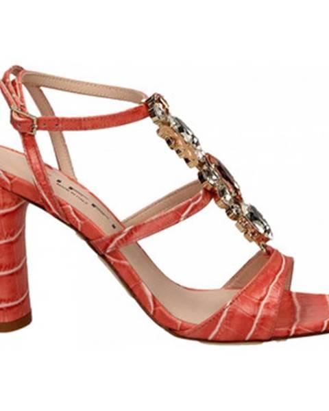 Červené topánky Tiffi