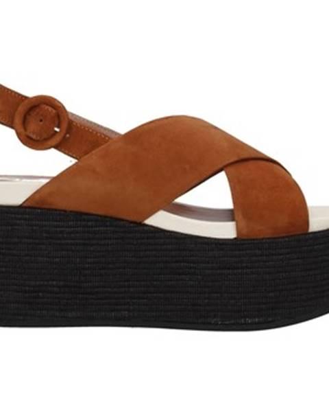 Hnedé topánky Tres Jolie