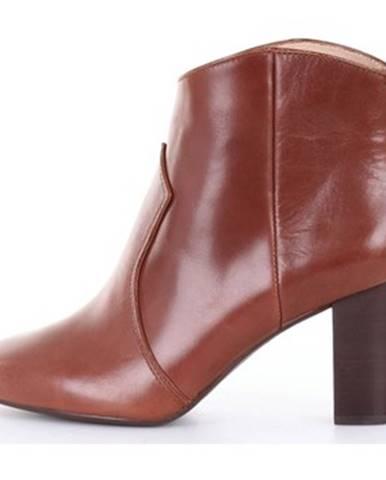 Hnedé topánky Unisa