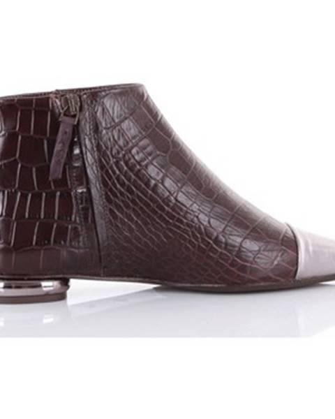 Hnedé topánky Anna Baiguera