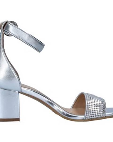 Strieborné topánky Apepazza