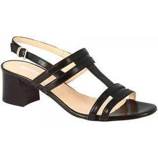 Sandále  5130 VITELLO NERO