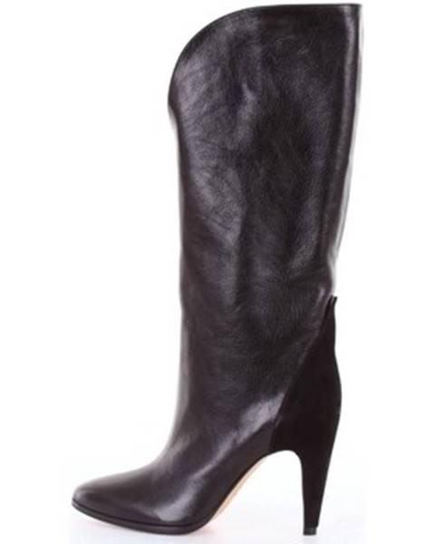 Čierne čižmy Givenchy