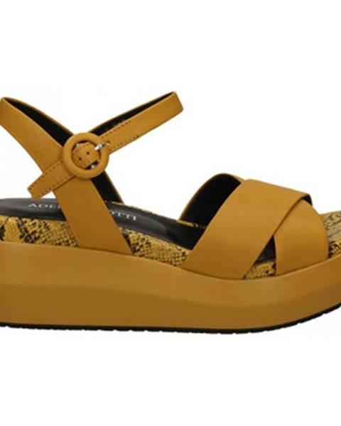 Žlté topánky Adele Dezotti