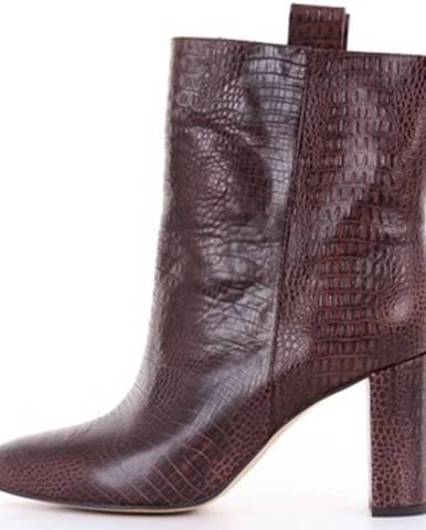 Červené topánky Bibi Lou