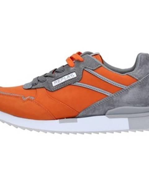 Oranžové tenisky Replay
