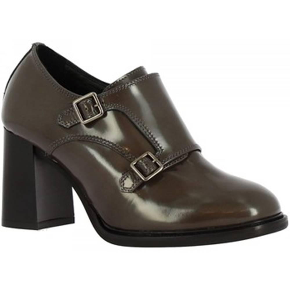 Leonardo Shoes Mokasíny Leonardo Shoes  9806/1 ABRASIVATO LAVA