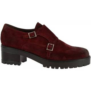 Mokasíny Leonardo Shoes  026-16 CAMOSCIO BORDO