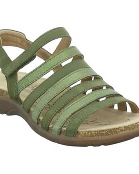 Zelené topánky Josef Seibel
