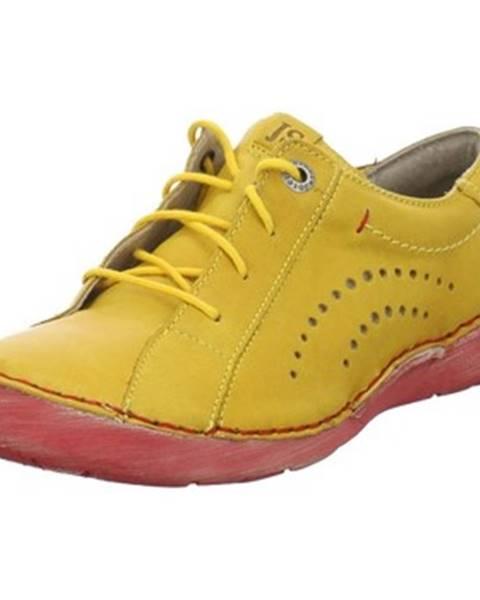 Žlté topánky Josef Seibel
