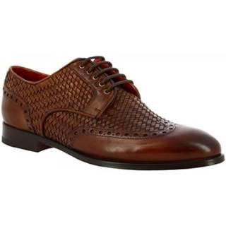 Derbie Leonardo Shoes  9457E20 VITELLO AV SIENA