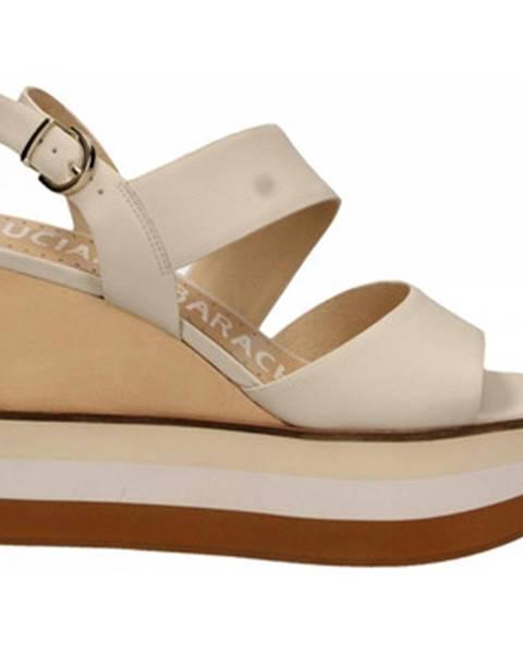 Béžové topánky Luciano Barachini