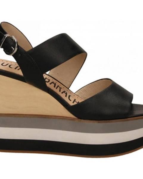 Čierne topánky Luciano Barachini