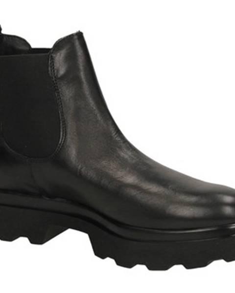 Čierne topánky Antica Cuoieria