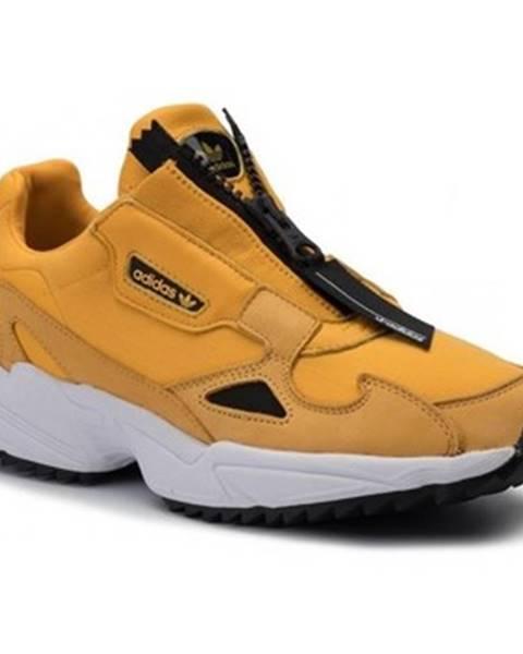 Žlté tenisky adidas