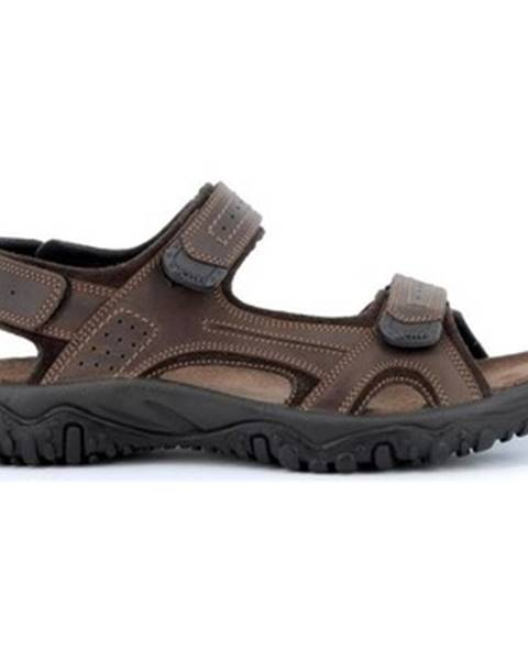Hnedé športové sandále Robert