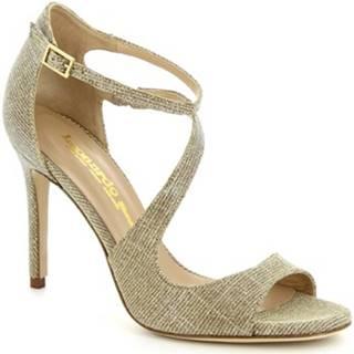 Sandále Leonardo Shoes  VALLIE GALAXY PLATINO
