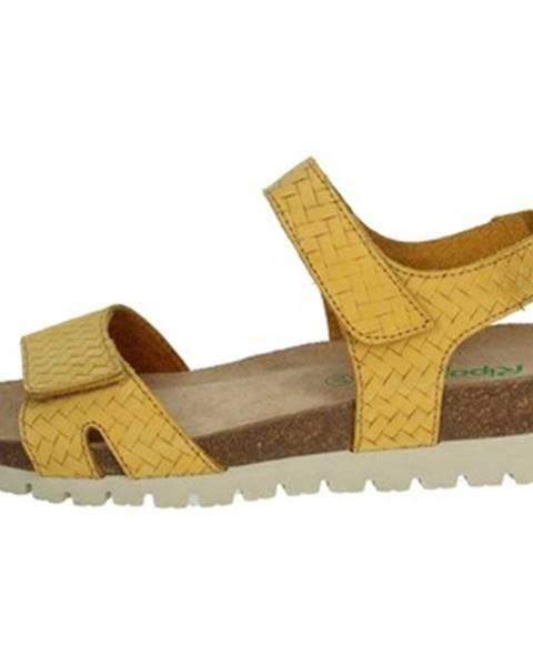 Žlté topánky Riposella
