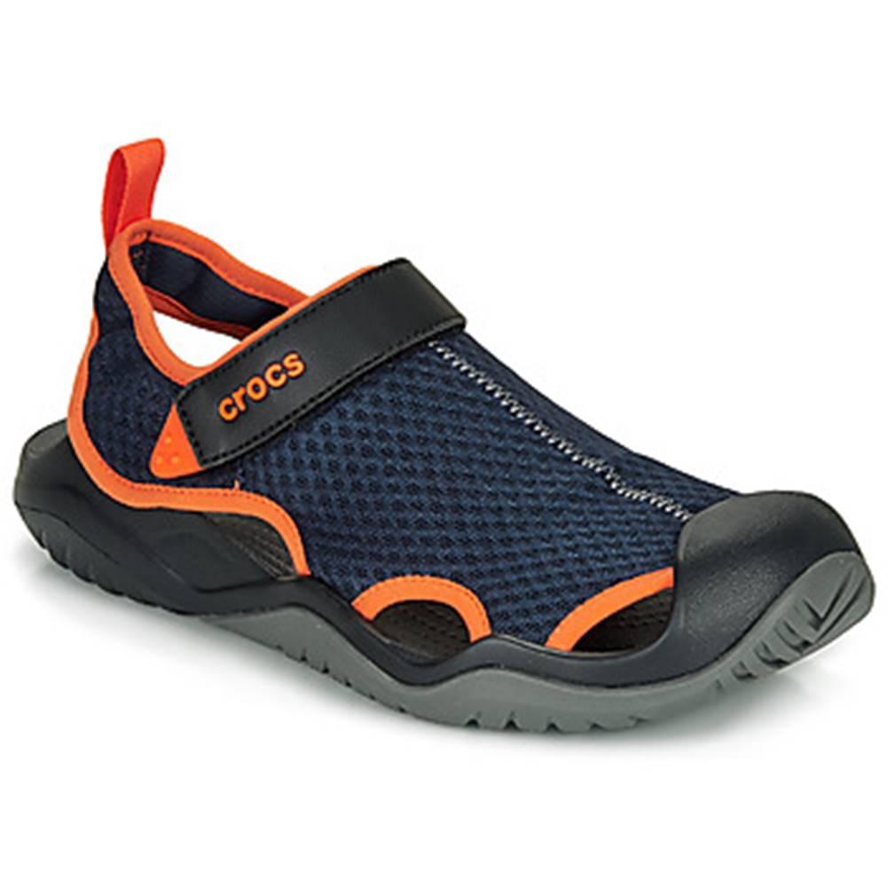 Crocs Športové sandále Crocs  SWIFTWATER MESH DECK SANDAL M