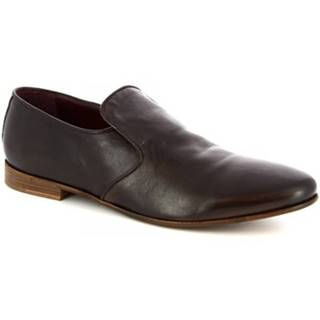 Mokasíny Leonardo Shoes  34301/2 BRONZATO