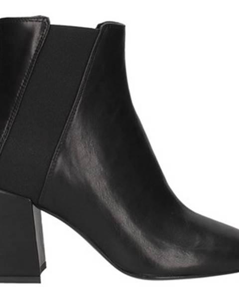 Čierne čižmy Lorenzo Mari