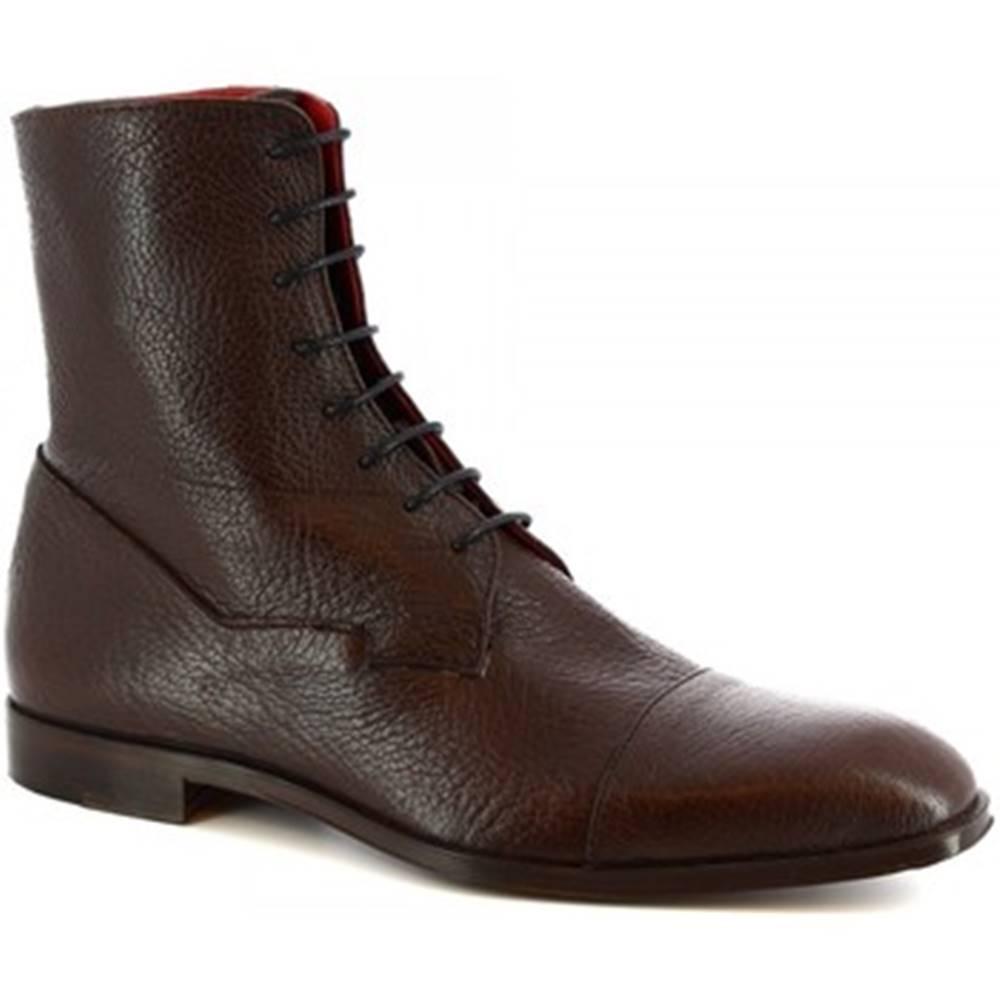 Leonardo Shoes Polokozačky Leonardo Shoes  310 V. T. D. M