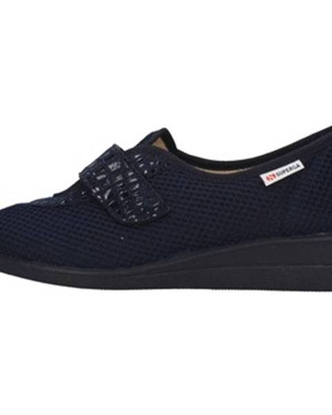 Modré papuče Superga