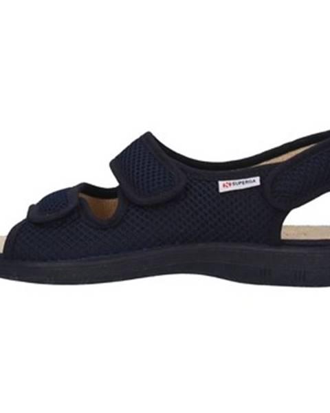 Modré topánky Superga