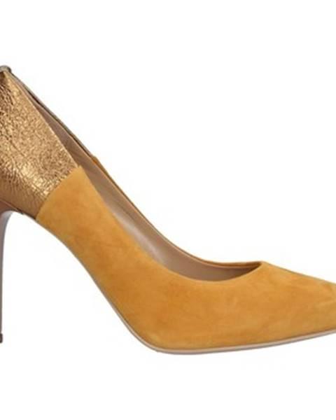 Žlté topánky Nero Giardini
