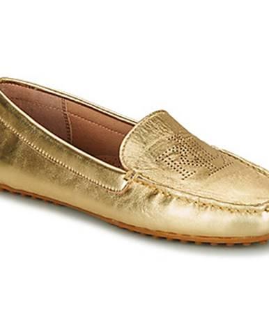 Zlaté topánky Lauren Ralph Lauren