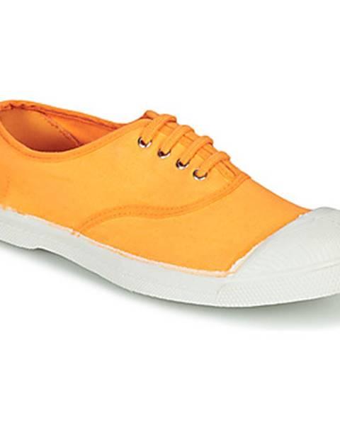 Oranžové tenisky Bensimon