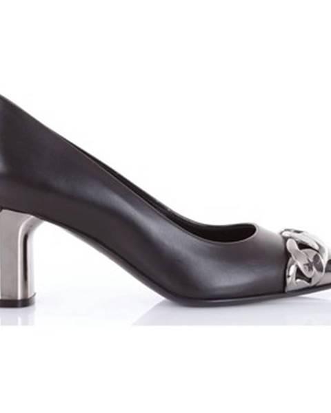 Čierne topánky Casadei