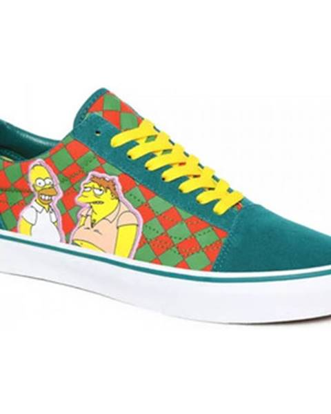 Viacfarebné topánky Vans