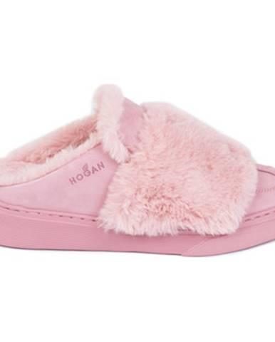 Ružové papuče Hogan
