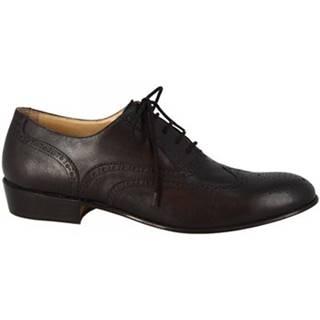 Derbie Leonardo Shoes  PINA 037 NERO