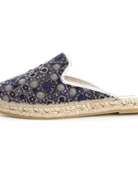 Modré topánky Vidorreta