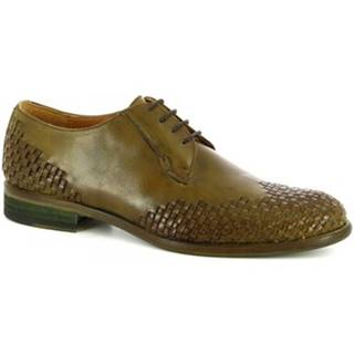 Derbie Leonardo Shoes  C9 PELL. ARIEL VERTE