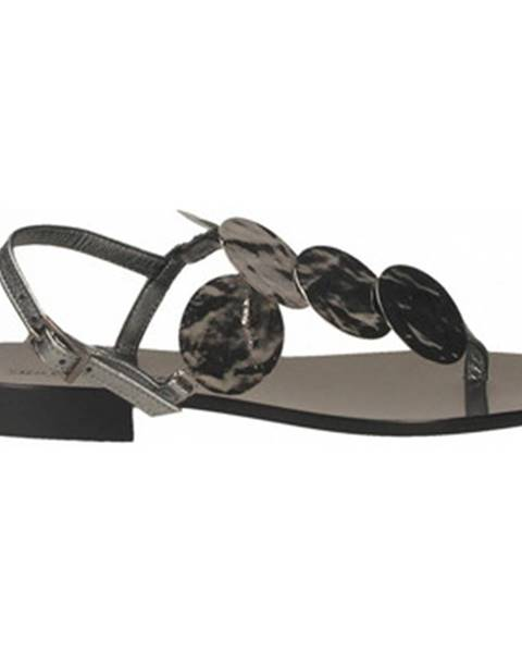 Strieborné topánky Paolo Ferrara