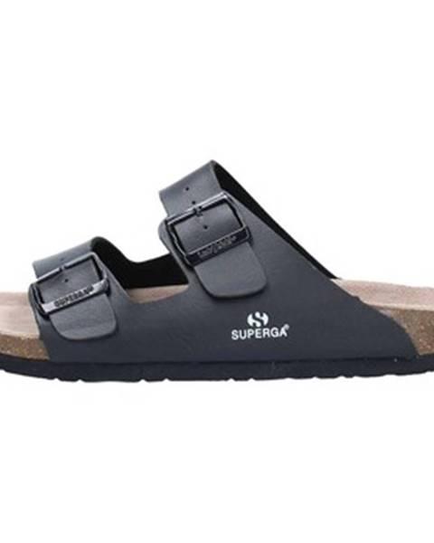 Čierne topánky Superga