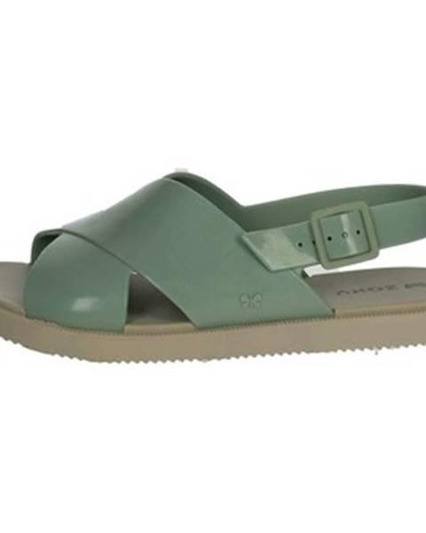 Zelené topánky Zaxy