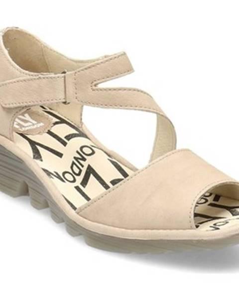 Béžové topánky Fly London